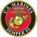 U.S. Marines Semper Fi Patch