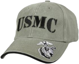 OD Green Low Profile USMC Ball Cap