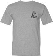 USMC w/Eagle Globe and Anchor T-Shirt