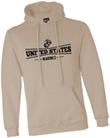 United States Marines Hooded Sweatshirt