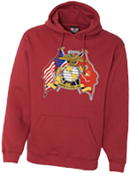 Semper Fi Until I Die Pullover Hooded Sweatshirt