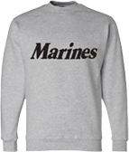 Marines Crew Neck Sweatshirt