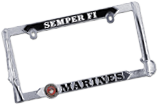 Marine Corps 3D License Plate Frame
