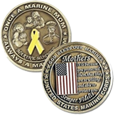 Marine Mom Coin