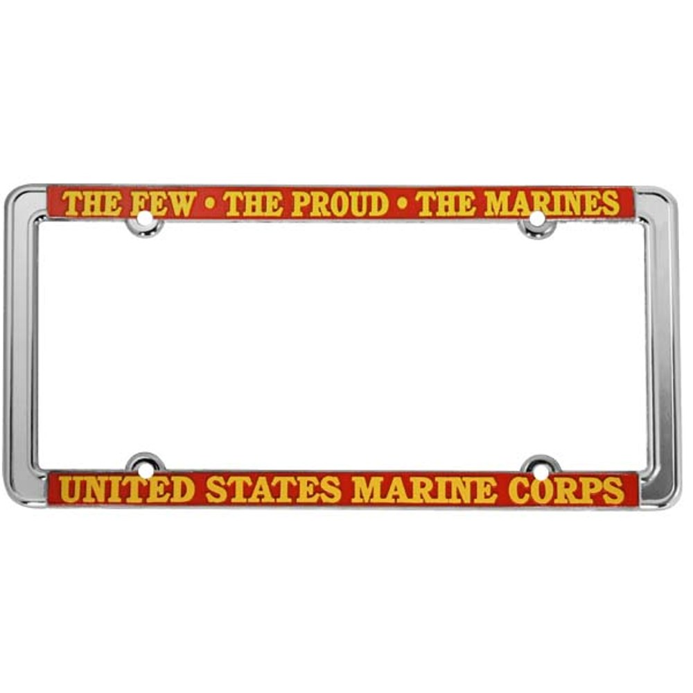 The Few, The Proud License Plate Frame | eMarinePX.com