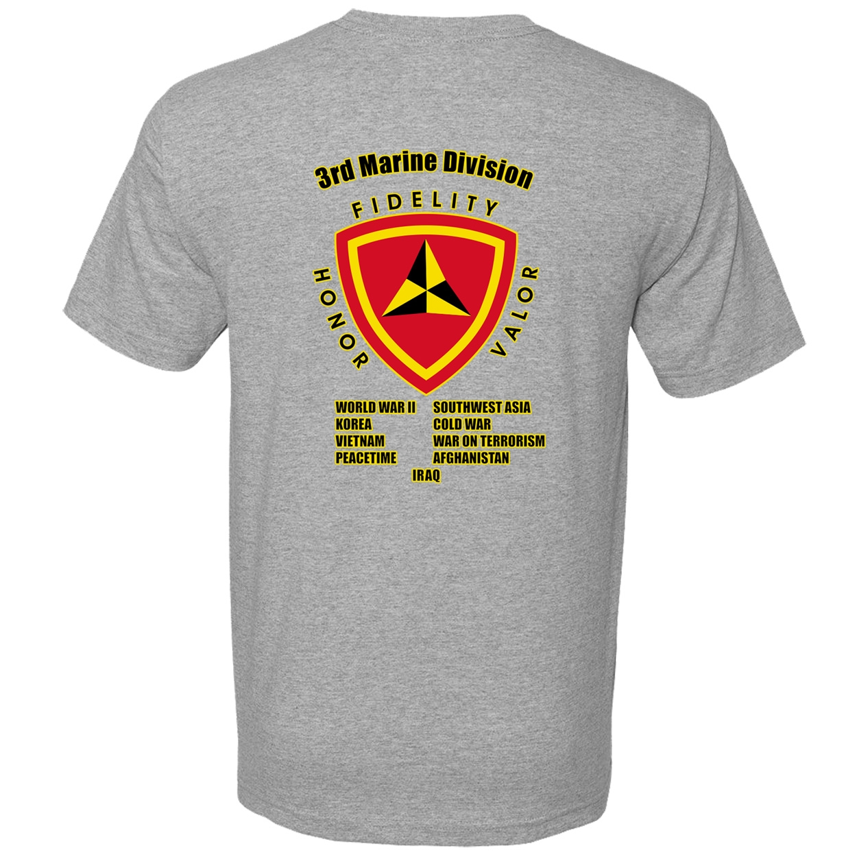d452fcf2 3rd Marine Division Campaign T Shirt | eMarinePX.com