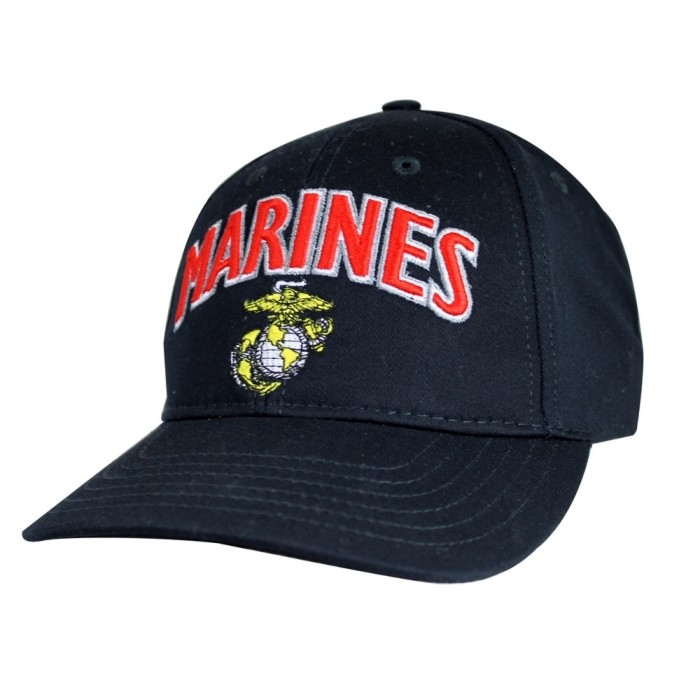230b66a35fb Marines w Eagle Globe and Anchor Ball Cap. Zoom