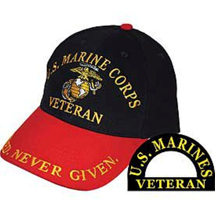 Earned Never Given Veteran Ball Cap. Zoom c0f99aef611b