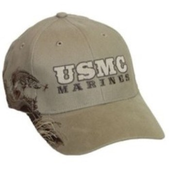 72151a981c Trout USMC Marines Ball Cap. Zoom