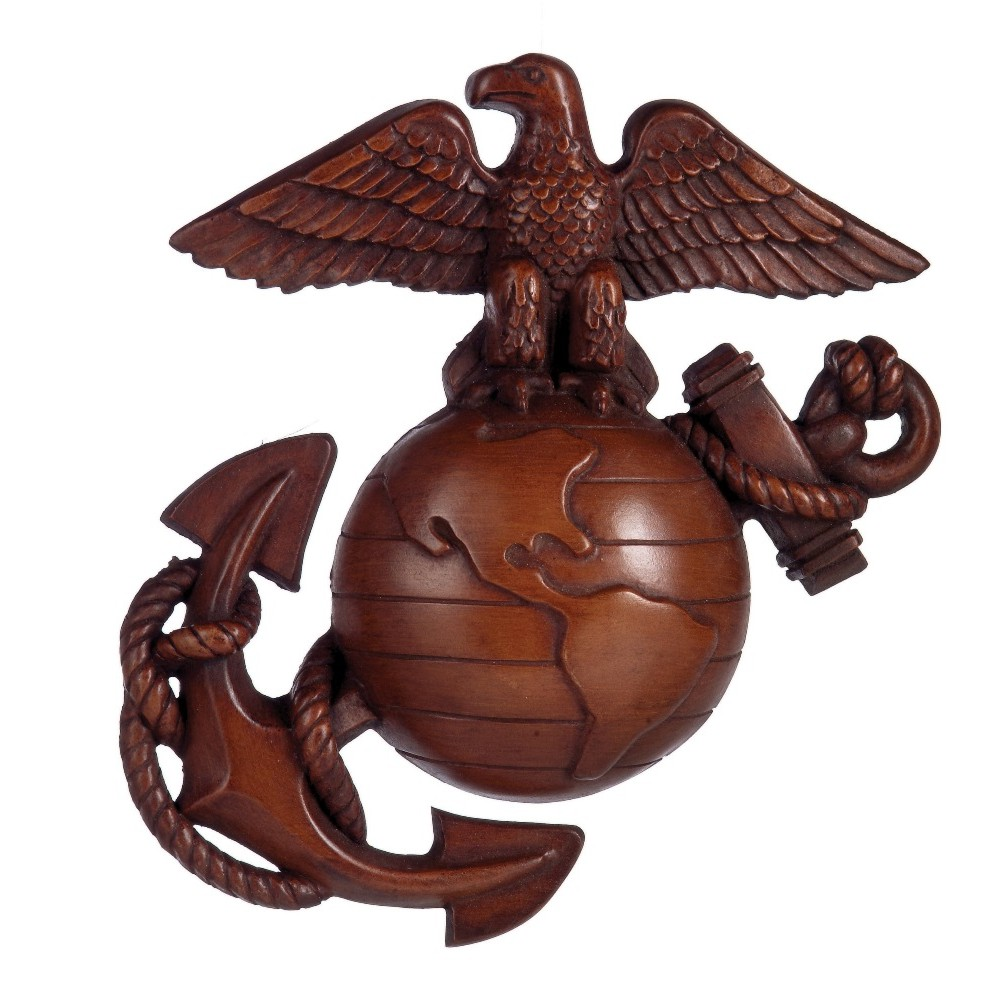 Large Anchor Wall Decor large eagle globe n anchor wall decor | emarinepx