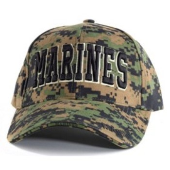 Digital Camo Marines Ball Cap. Zoom a28c83e3176