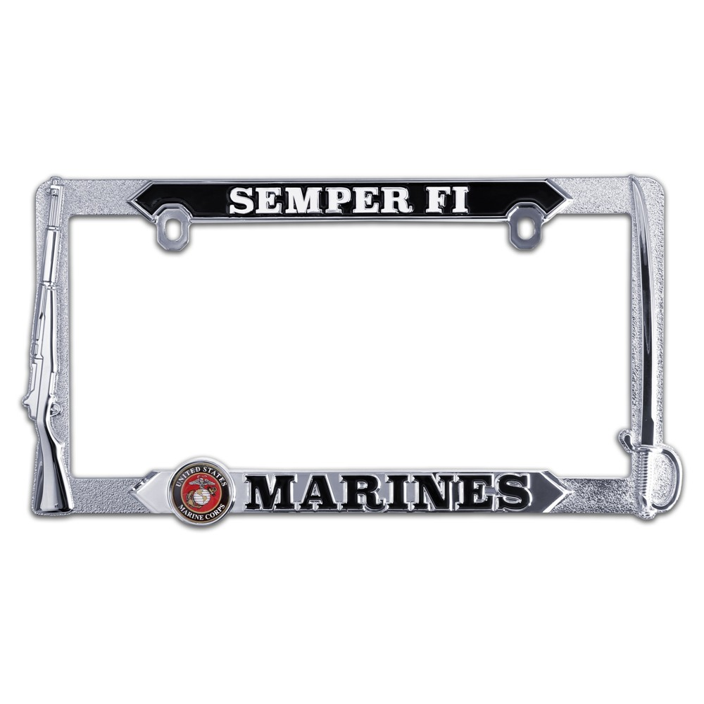 Marine Corps 3D License Plate Frame | eMarinePX.com